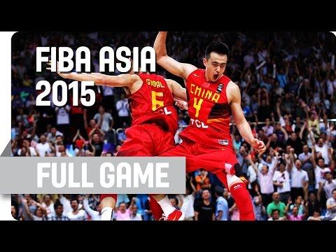 Korea v China - Group C - Full Game - 2015 FIBA Asia Championship