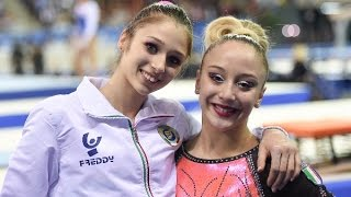 Cluj Napoca - Finale All Around femminile - Maggio e Grisetti (Intervista)