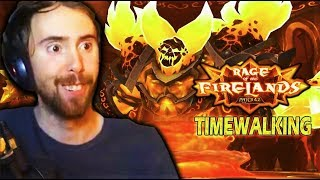 Asmongold Clears FIRELANDS TIMEWALKING Raid & Gets Mad at His Team