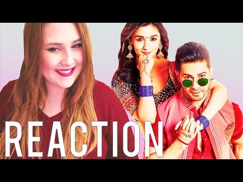Badrinath Ki Dulhania - Official Trailer - REACTION