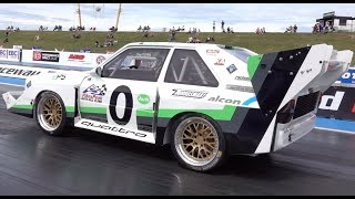 Audi Quattro S1 E2 Pikes Peak Car - 1/4 Mile Run