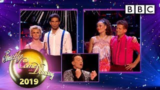 The judges vote and we say goodbye! 😢 - Week 5 | BBC Strictly 2019