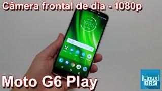 Mototola Moto G6 Play - Camera Frontal Dia 1080p