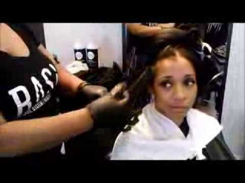How to Transition from a Relaxer without doing a Big Chop.