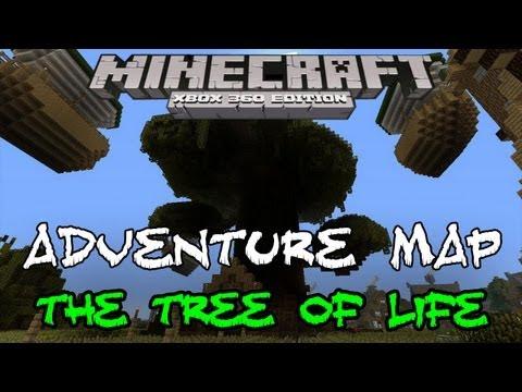 THE TREE OF LIFE #3   ADVENTURE MAP   TRIALS OF ZATHOR   Minecraft Xbox