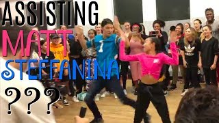 Download Lagu ASSISTING MATT STEFFANINA??? Nicole Laeno Gratis STAFABAND