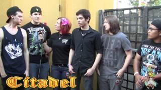 Citadel (interview) for CAPITAL CHAOS TV in Sacramento