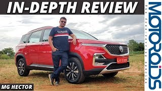 MG Hector In-Depth Review | Hindi | Every Feature Explained