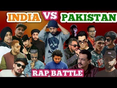 PAKISTAN VS INDIA RAP BATTLE|best rapper|desi hiphop|honey singh|pardhaan|bhoemia tube tv|☘🌿🍀