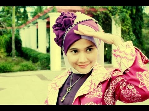 Hijab Tutorial Shawl | Pesta dan Wisuda | Running Ramadhan 2013 | by Didowardah - Part #1