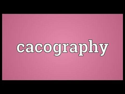 Header of cacography