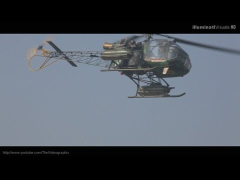 Extreme Low Fly Pass Cheetah Helicopter video