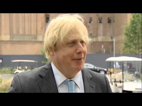 Boris Johnson marks the official start of work on Battersea Power Station