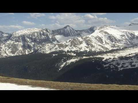 Awesome Views from Rocky Mountain National Park, Trail Ridge Rd