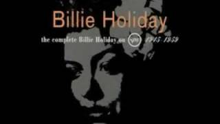 Watch Billie Holiday Stormy Weather video
