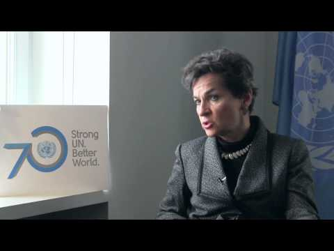 Question to Christiana Figueres: What do you expect from COP21?