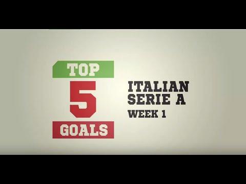 Top 5 Goals - Italian Seria A [Week 1]