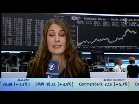 2009 01 26 Börse Im Ersten Gold Anstatt Aktien