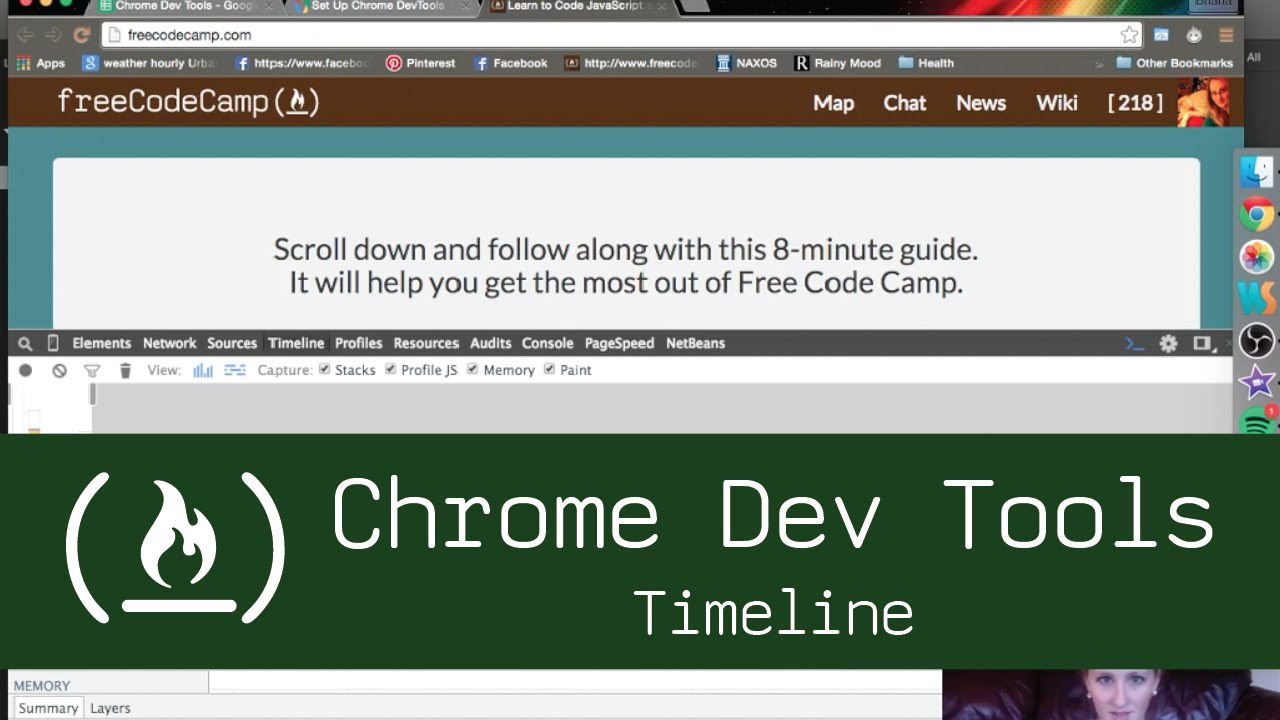 Navigational Tools Timeline Chrome Dev Tools Timeline