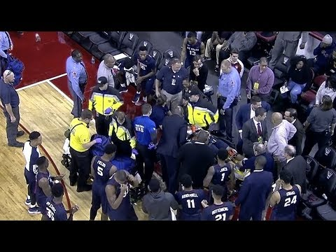 South Carolina State Player Collapses On Bench at NC State