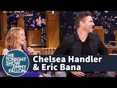 Chelsea Handler Flew to Australia to Have Dinner with Eric Bana
