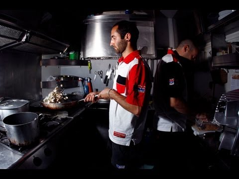 Honda World Motocross - behind the scenes! - Hospitality