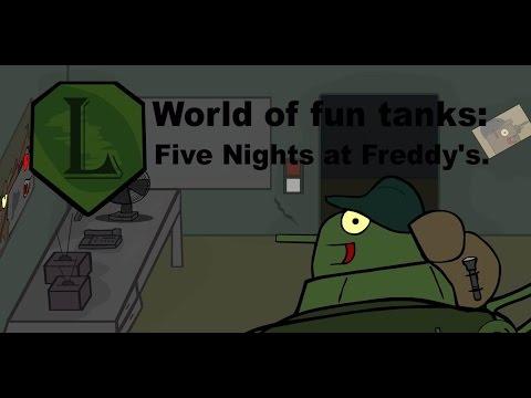 LaimenFlash: Five Nights at Freddy's. Мультик про танки