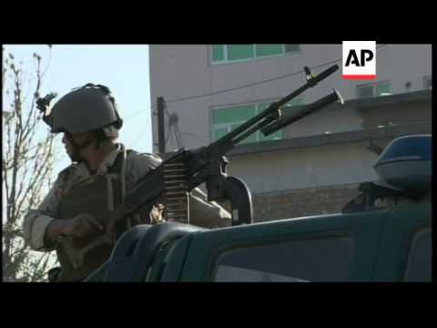 Final clashes before Afghan security forces overpower Taliban militants