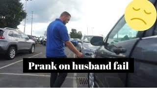 Raye El Carro broma / I scratched The Car Prank On Husband Fail!!!