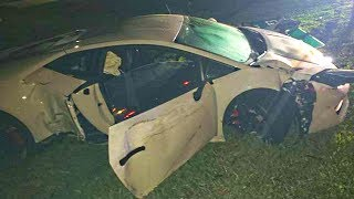 MY LAMBORGHINI WAS TOTALED...