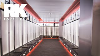 We Toured the Texas Longhorns' Insane Football Facility & Sneaker Equipment Room | Royal Key
