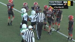 Rocky Mtn Pop Warner 2015 Playoffs: Jr. Pee Wee DII (2nd Half)