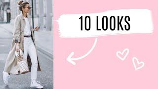 Como Combinar Pantalón Blanco + 10 OUTFITS