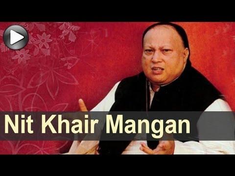 Nusrat Songs - Nit Khair Mangan - Swan Song - Nusrat Fateh Ali Khan video