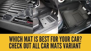 How to choose the right car mat for your car
