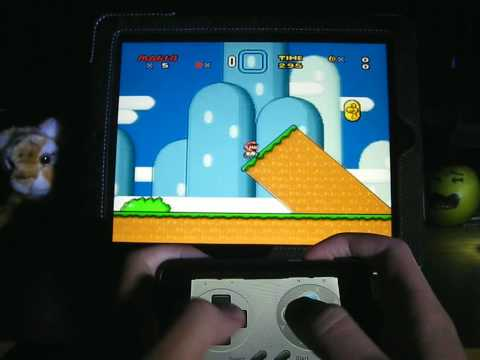 [iPad App Review] SNES (HD) with iPhone / iPod Touch controller