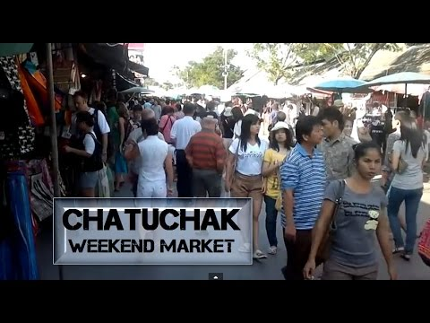 Chatuchak Weekend Market Shopping