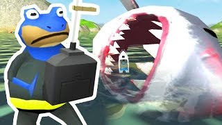Download Lagu CONTROLLING THE GIANT SHARK - Amazing Frog - Part 87 | Pungence Gratis STAFABAND