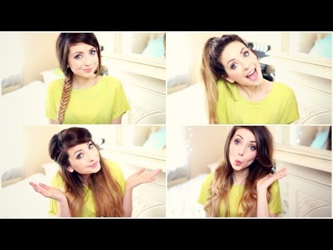How To: My Quick and Easy Hairstyles Zoella