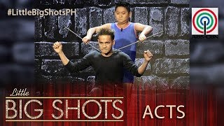 Little Big Shots Philippines: Brix | 12-year-old Strong Kid
