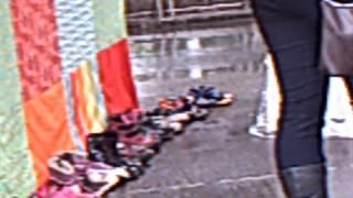 2013 4-4 Cease Fire Oregons quilt & childrens shoes