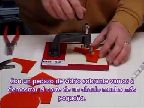 Cortador circular para vidrio tutorial youtube - Cortador de baldosas ...