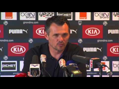 Point Presse - Willy Sagnol - Bordeaux vs Montpellier