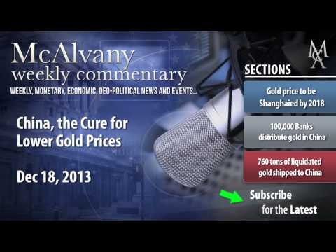 China, the Cure for Lower Gold Prices | McAlvany Commentary
