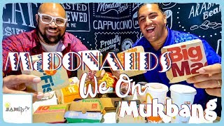 SAMOA MCDONALD'S MUKBANG WITH A RUGBY BRONZE MEDALIST | EATING EVERYTHING ON THE MENU!