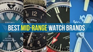 Top 4 Brands to Buy For Your First Mid-Range Watch! (Next Step Watches Revisited)