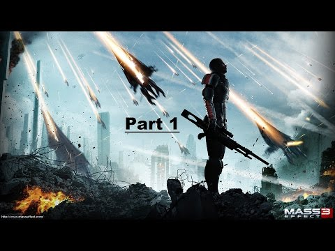 Mass Effect 3 Walkthrough Part 1 (Interactive Back-Story)