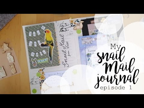SNAILMAIL JOURNAL ep. 1 | A creative way to store your penpal's letters #1