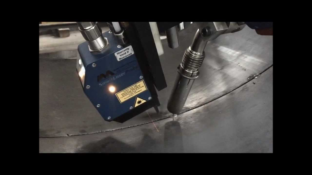 Tank Welding With Laser Seam Tracking Youtube