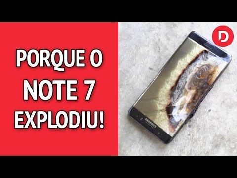 Note 7 - Porque ele explode? Samsung explica! 🔥